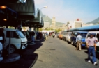 Taxi rank in Cape Town